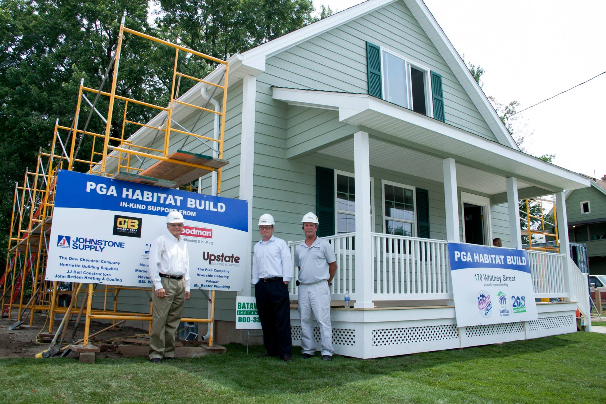 Upstate Roofing and Painting - Habitat for Humanity