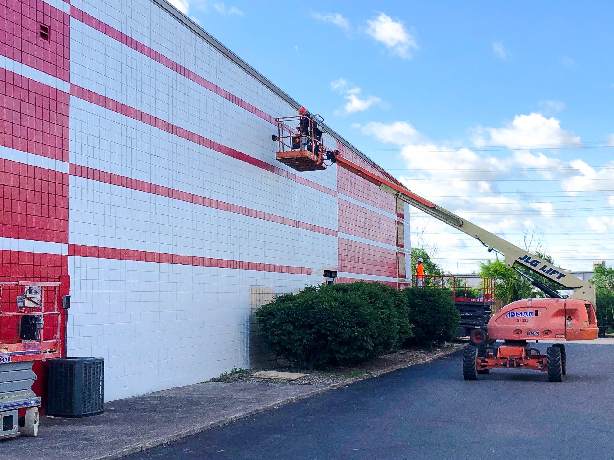 Storage Facility - Exterior Painting