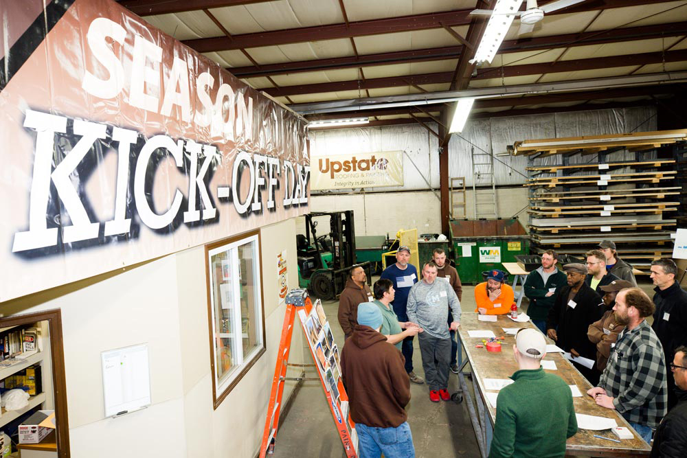 Upstate Team - Spring Kick-off Training and Safety