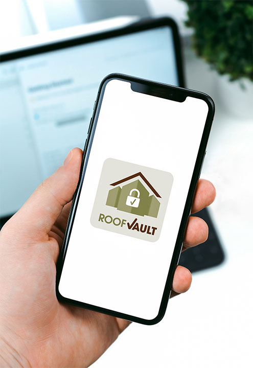Upstate Roofing and Painting - Roof Vault Management System